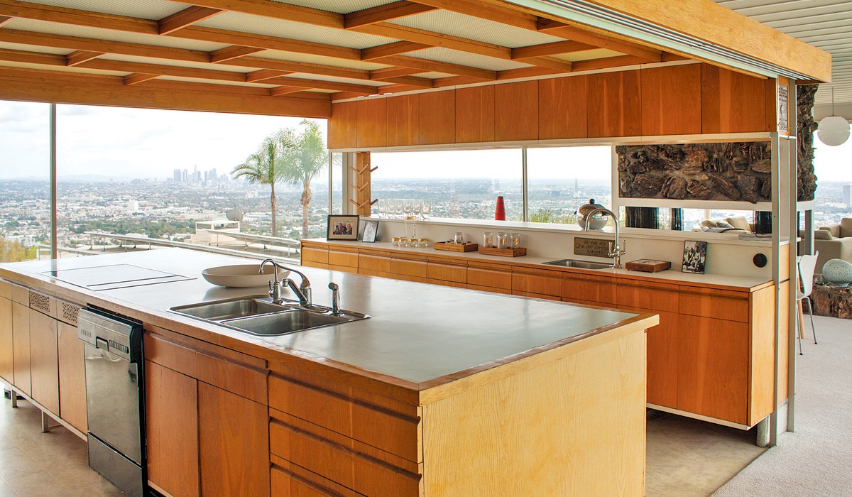 Tour An Icon The Stahl House Kitchen Decorating Idea