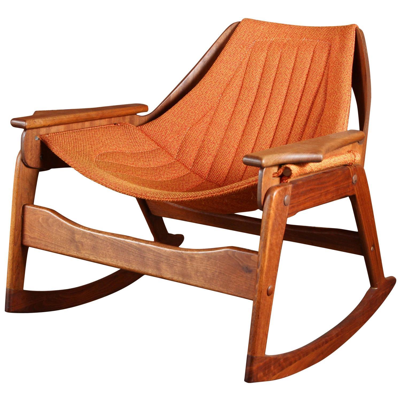 Rock Your Way To Comfort Midcentury Chair