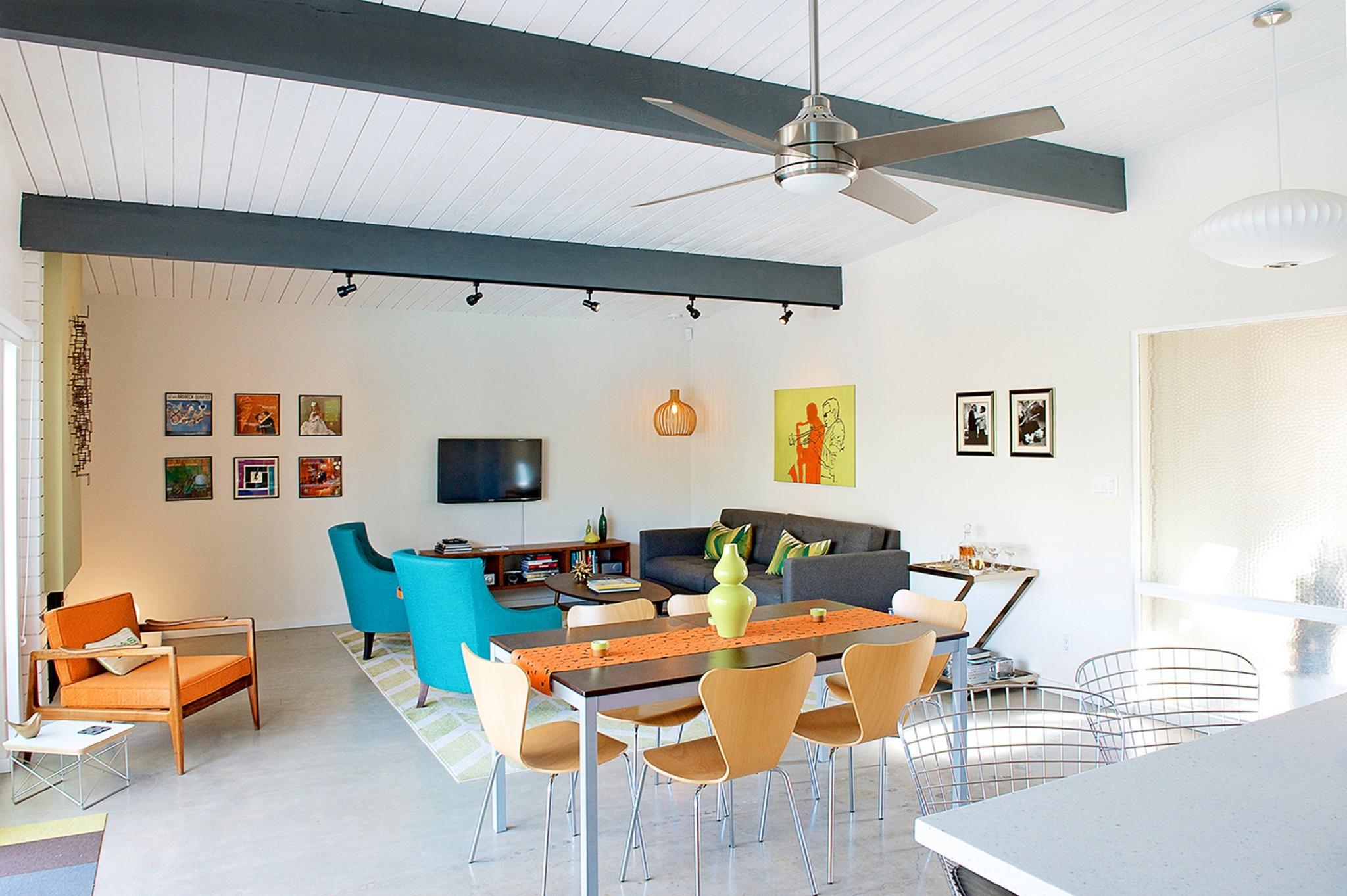 Easmor William Krisel Palm Springs House Tour Dining Room