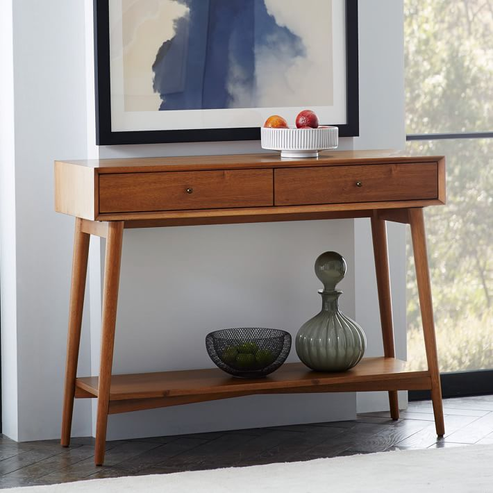 Midcentury Console West Elm Atomic Table