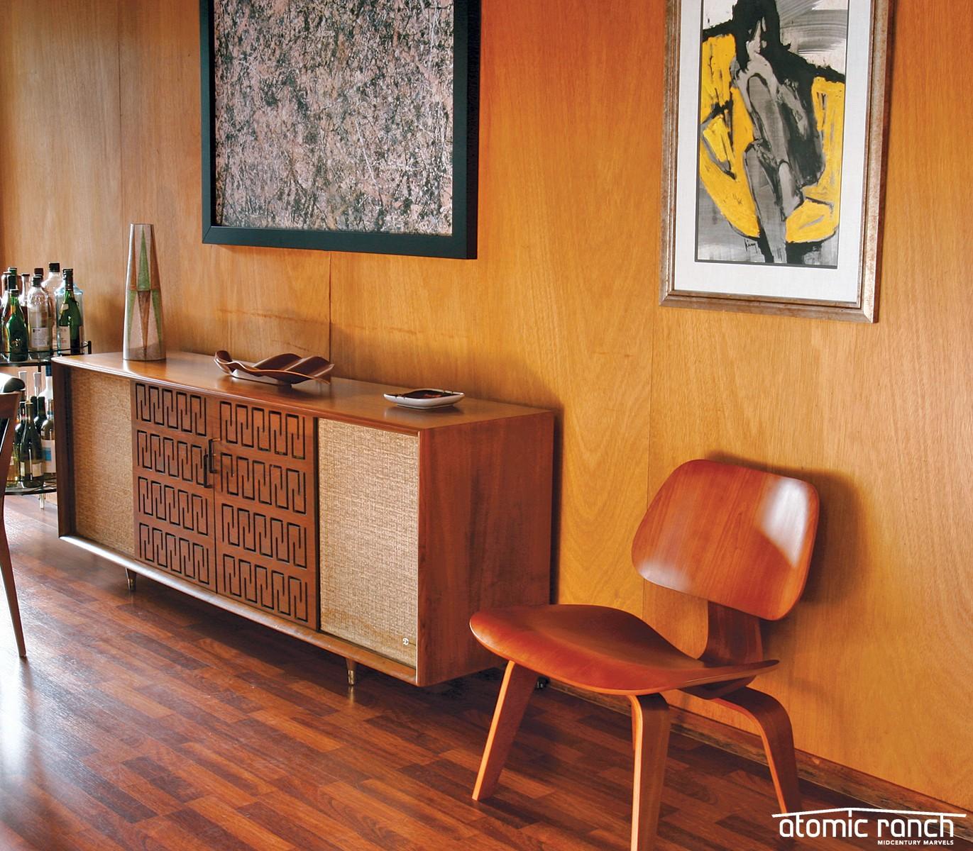 A-Frame Eichler House Tour Credenza Atomic Toys