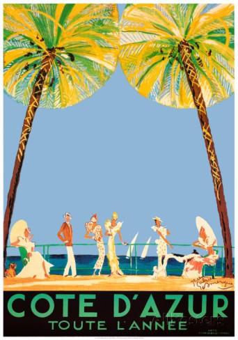 All Posters jean gabriel domergue cote d'azur graphic art prints