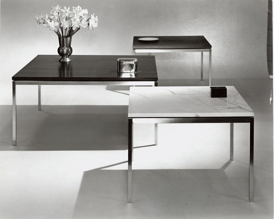 Florence Knoll designed side table
