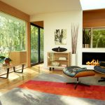 Herman Miller Eames Lounge and Ottoman Wood Furniture