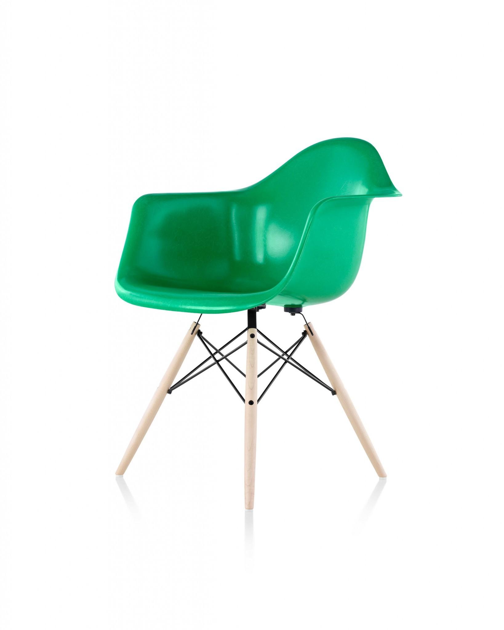Herman Miller Eames Molded Fiberglass Armchair