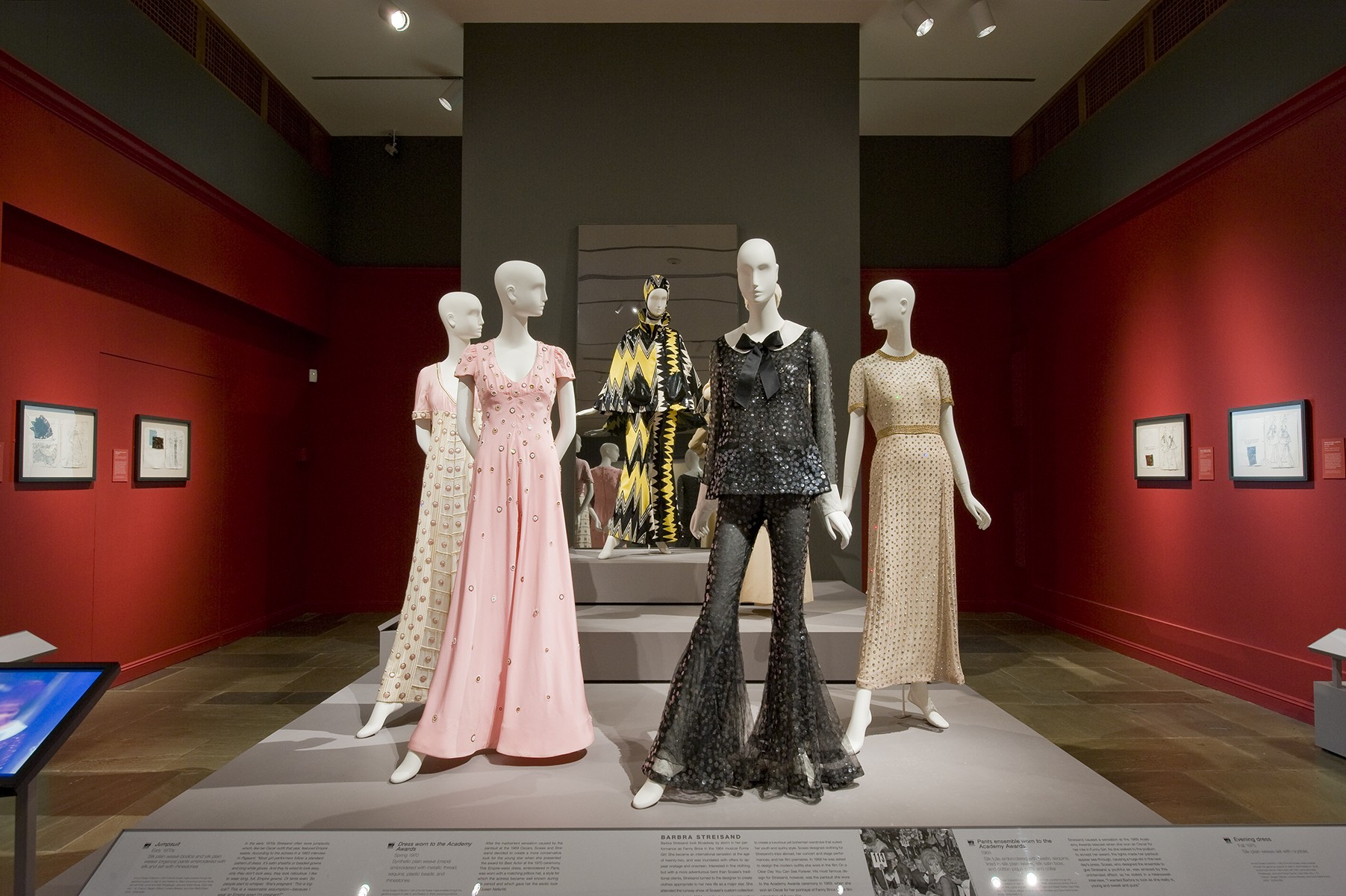 Scaasi American Couturier Exhibition MFA Boston