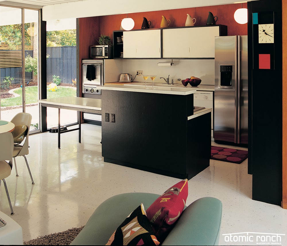How do you make an Eichler kitchen beautiful on a budget?