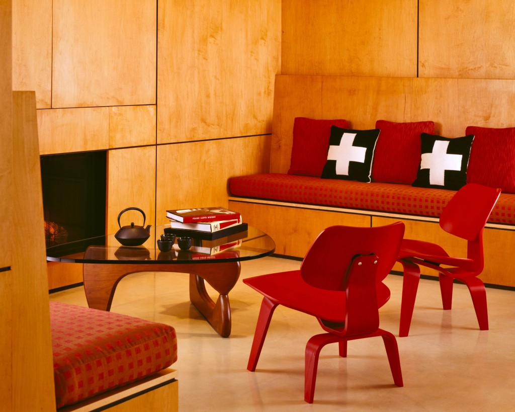 Noguchi Table and Eames Molded Chairs from Herman Miller