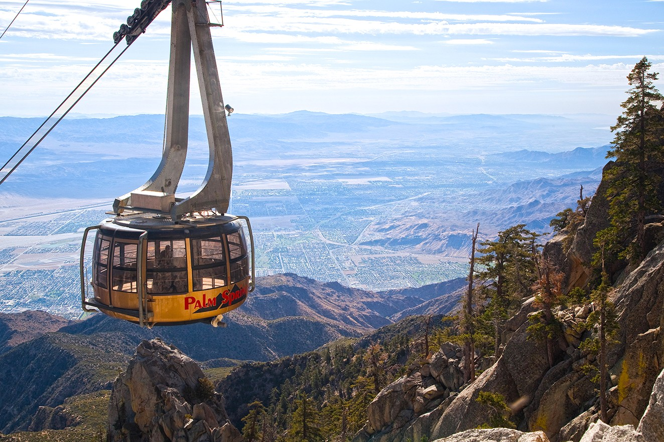 Palm Springs Tramway - credit: traveler.rtx.travel