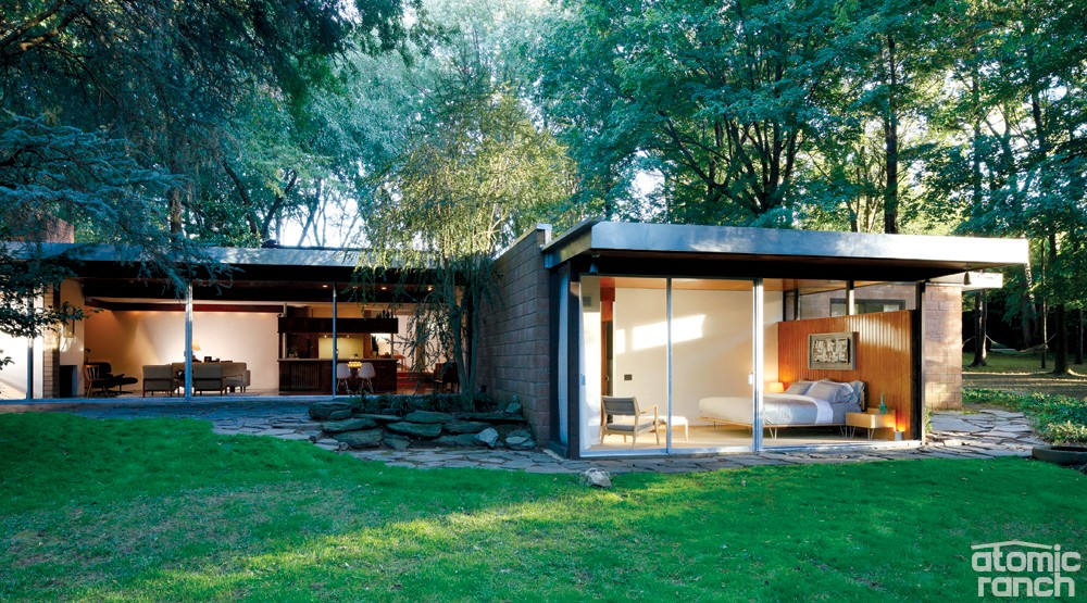 Mcm House Tour Philadelphia Neutra In The Woods