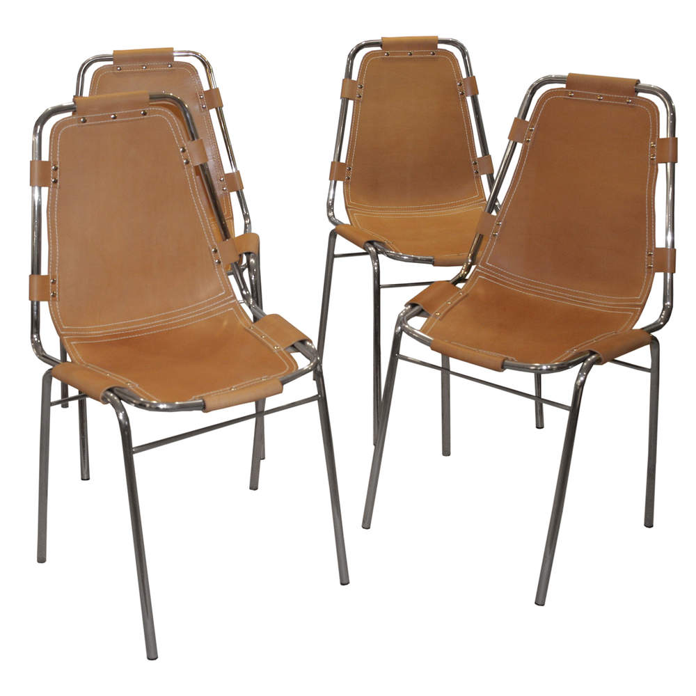 charlotte perriand chairs midcentury
