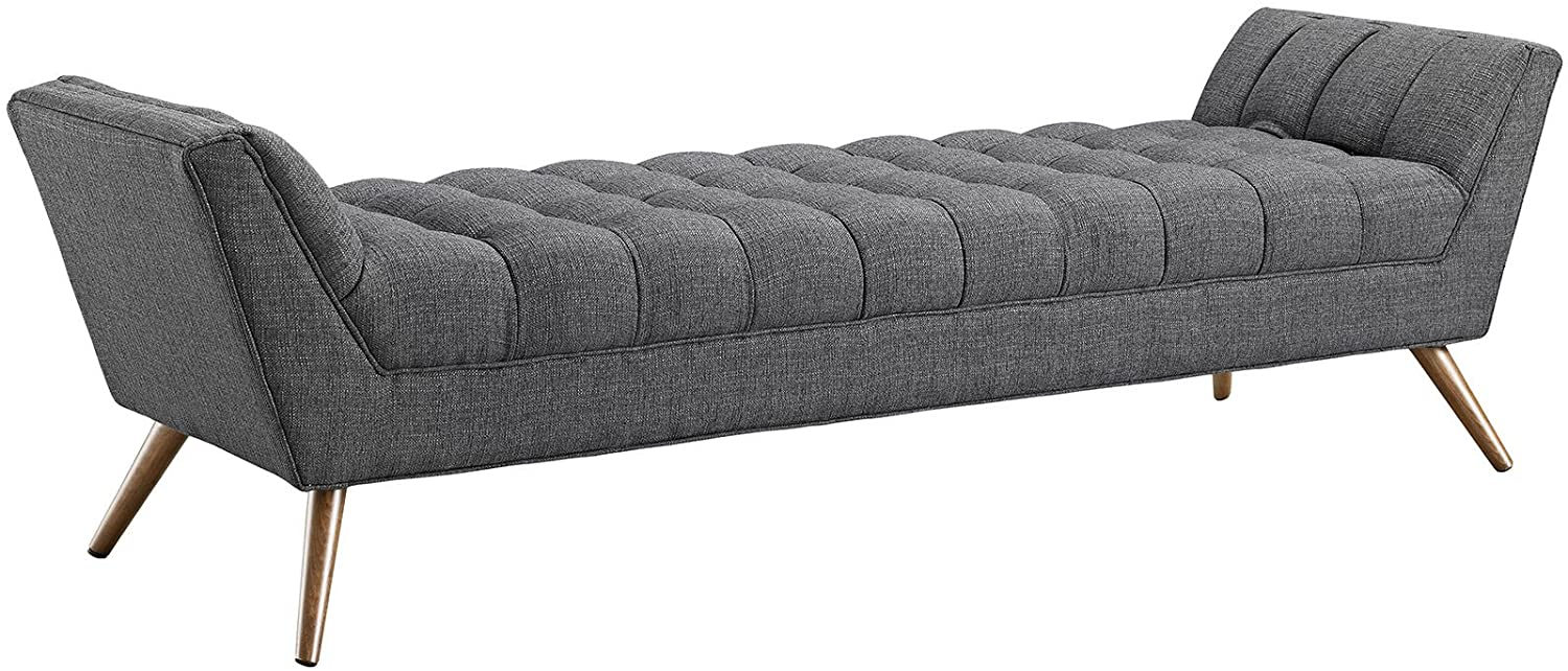 Modway Mid-Century Upholstered Bench