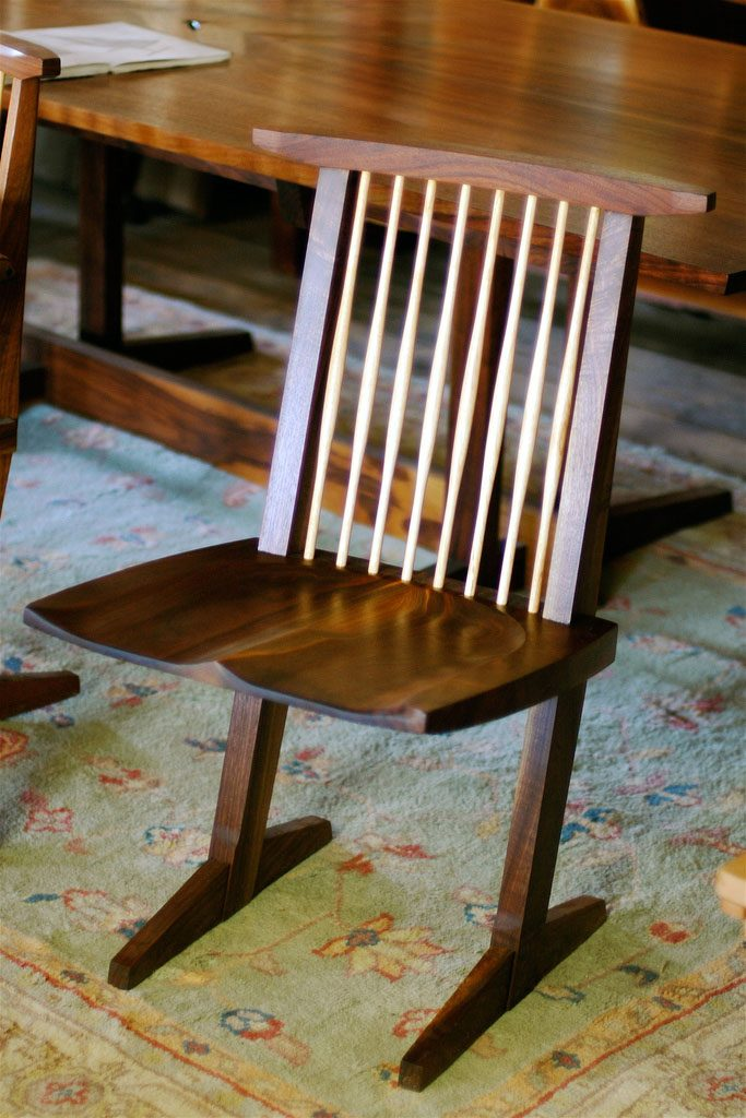George Nakashima's Conoid Chair