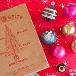 Retro ornaments and lights