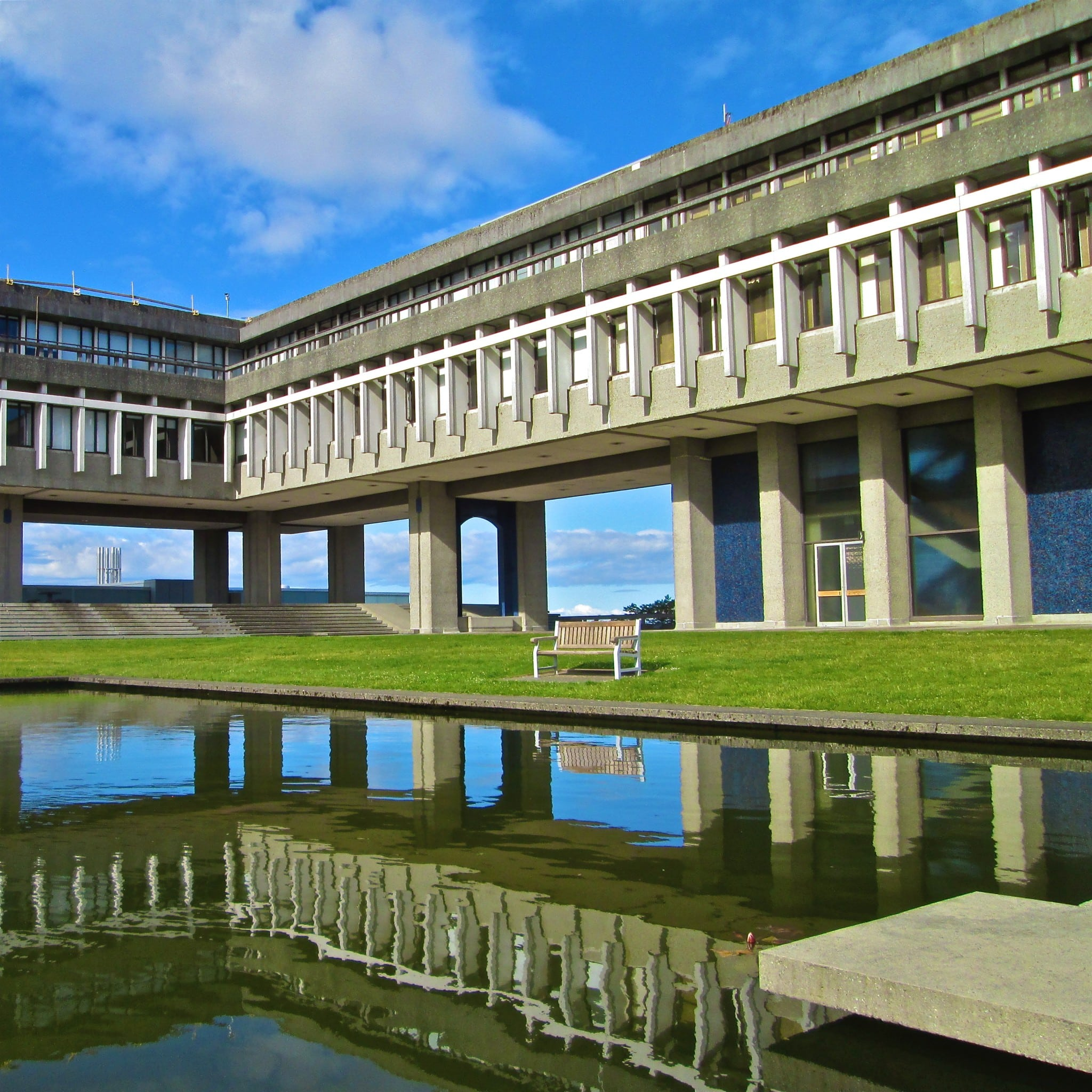 Simon Fraser University Brutalism