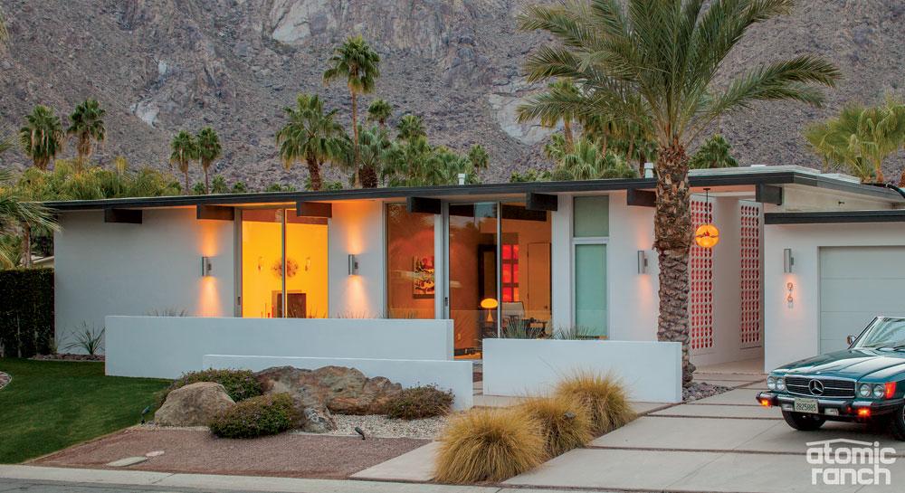Palm Springs makeover exterior