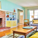 Midcentury purist living room