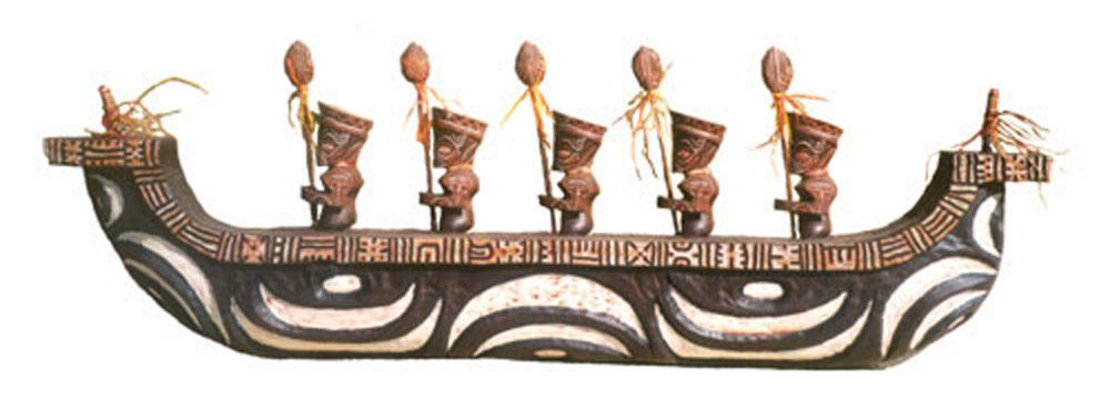 outrigger canoe art