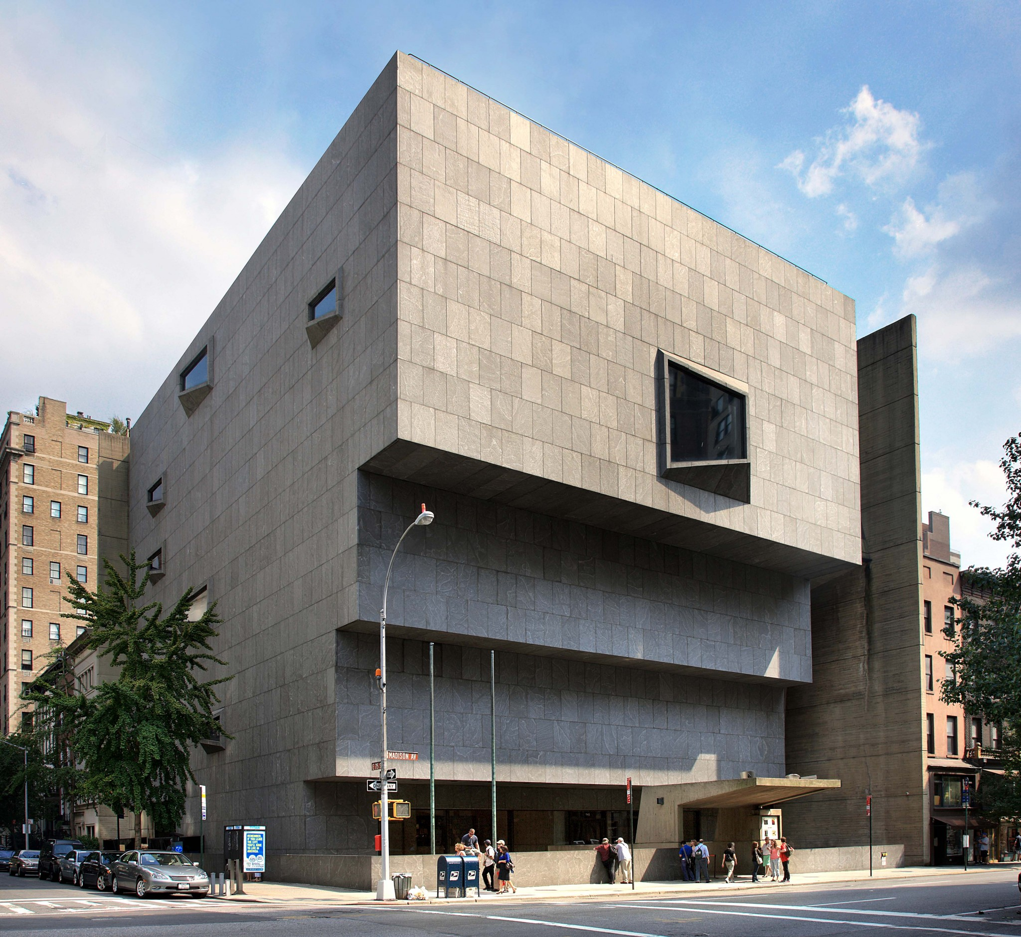 The Met Breuer is housed in the former Whitney Museum of American Art building, photography by Ed Lederman, courtesy of The Metropolitan Museum of Art