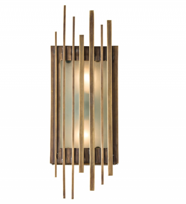 mid mod sconce light