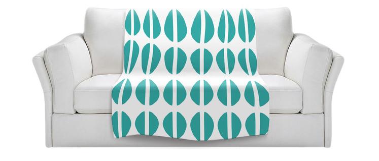 turquoise blanket