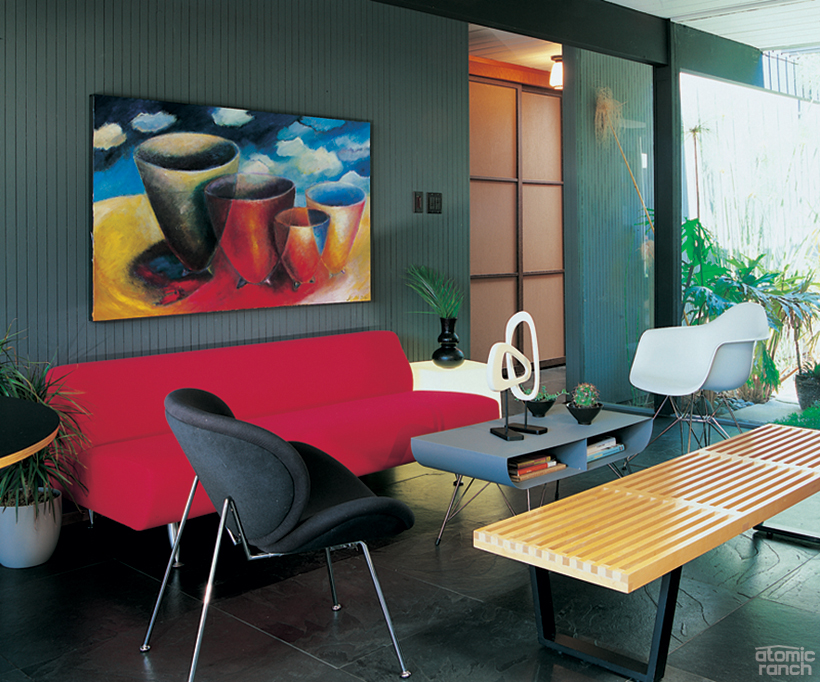 Eames George Nelson Toto in San Jose Eichler