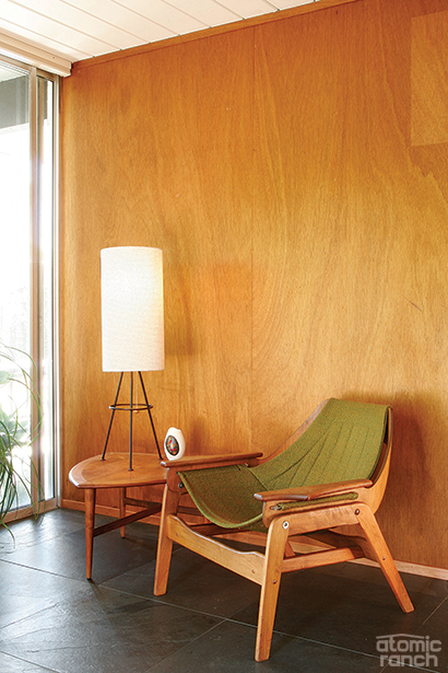 Jerry Johnson sling chair in San Jose Eichler