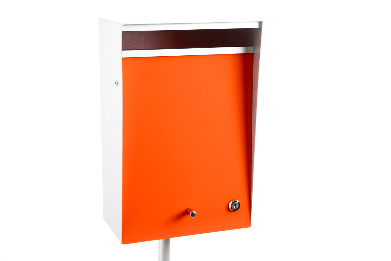 Wall Mount Letterbox by Box Design USA