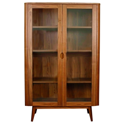 New Pacific Direct Milano glass door cabinet