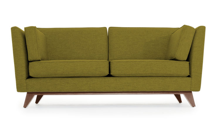 roller loveseat by joybird