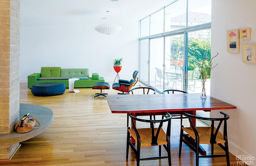 Polder sofa in Neutra living room