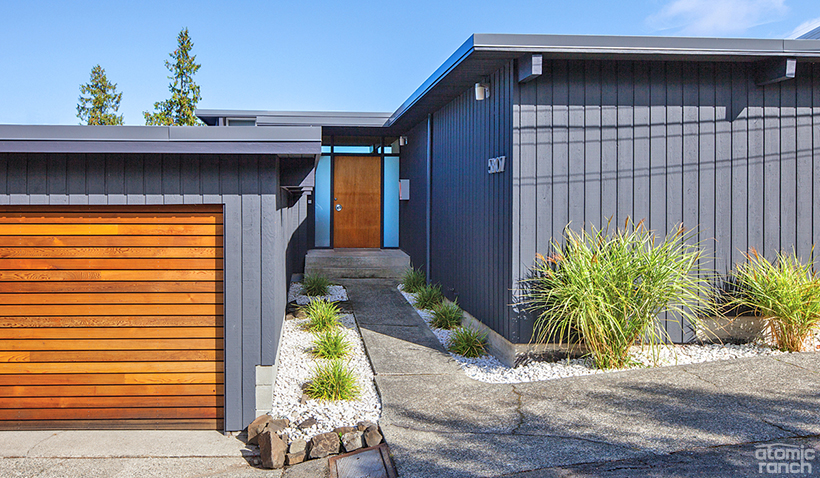 12 Incredible Midcentury Exteriors 5 Curb Appeal Ideas