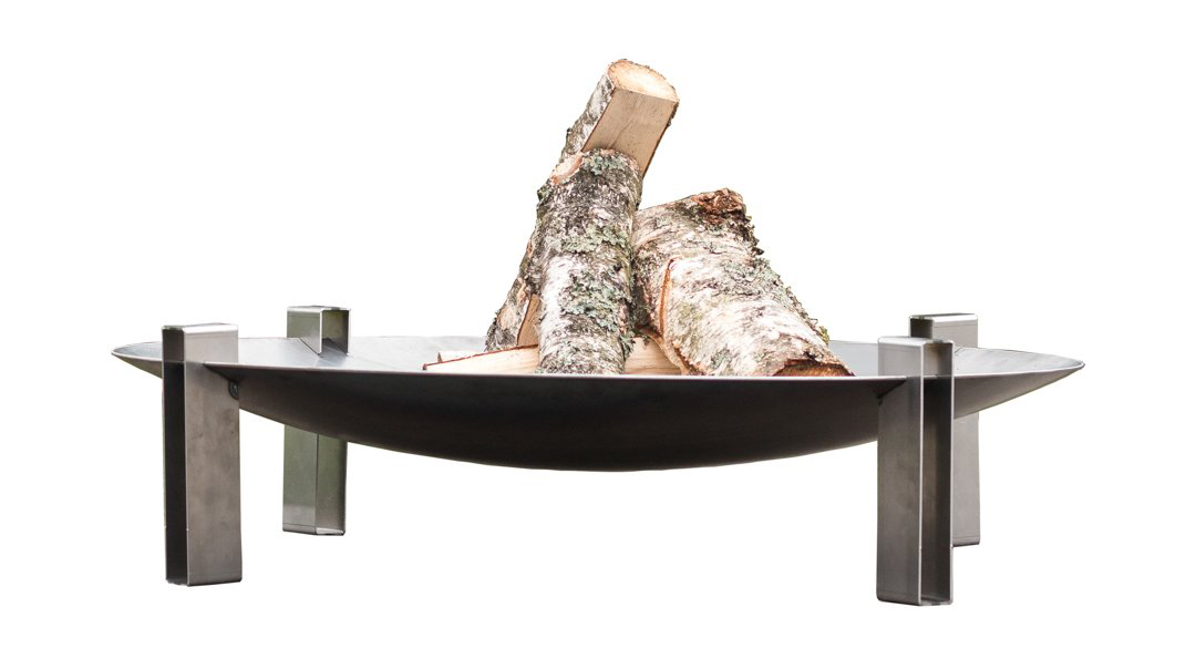 Alna wood-burning fire pit by Curonian
