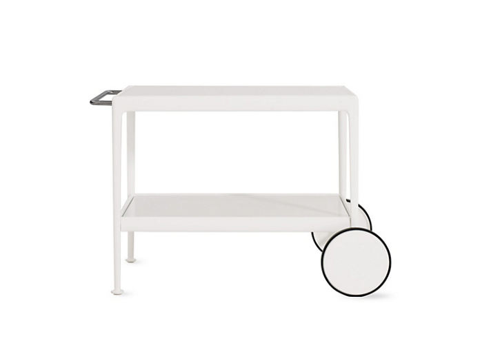 1966 collection porcelain serving cart by Richard Schultz and Design within Reach