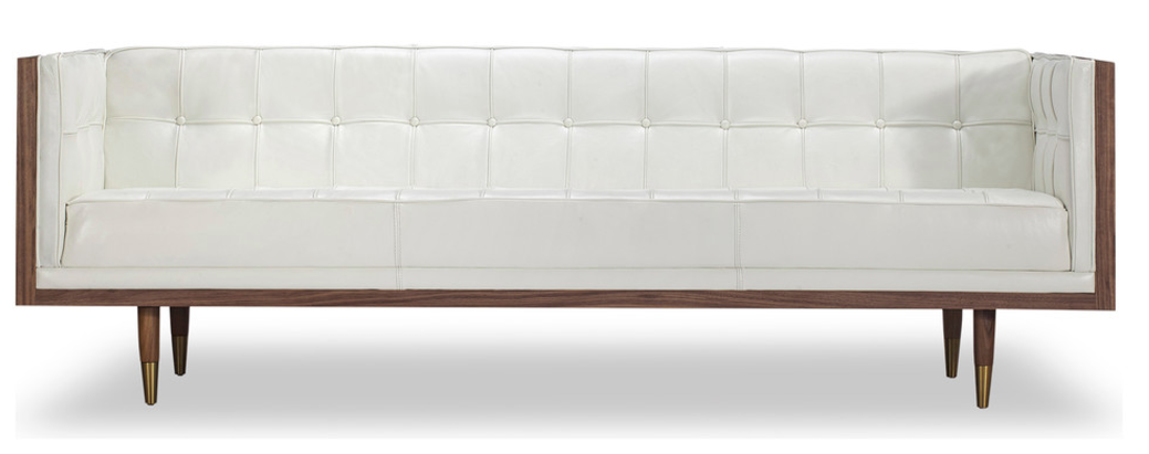 Woodrow box sofa by kardiel