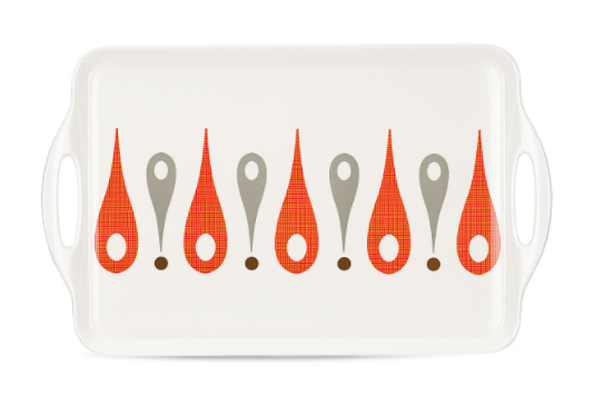 The burbs melamine platter by dansk and lenox