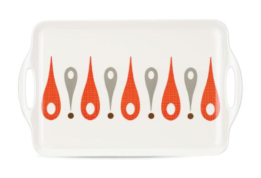 The burbs melamine platter by dansk and lenox