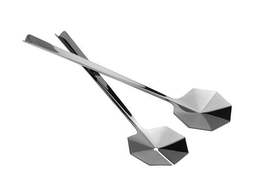 Leaf salad servers from Danish Design Store