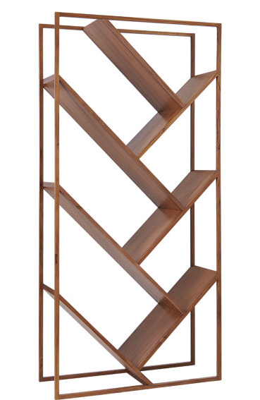 V bookcase room divider by CB2