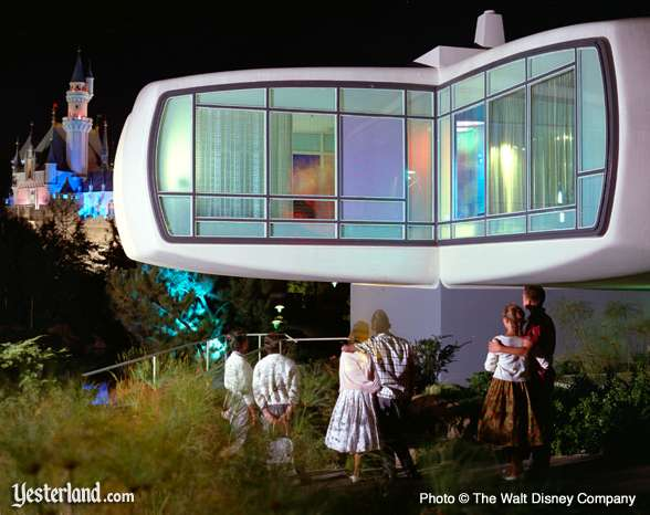 Monsanto House of the Future in Disneyland