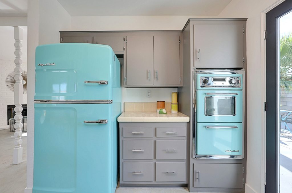Renovate Revamp Matching Teal Appliances Make The Kitchen