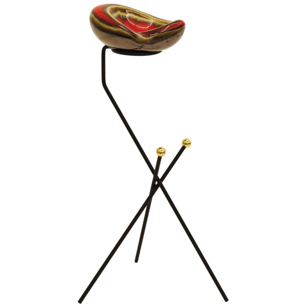 French tripod ashtray
