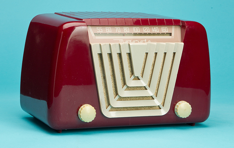 Mid Century Motorola Portable Radio 1950 Works Electronics ...