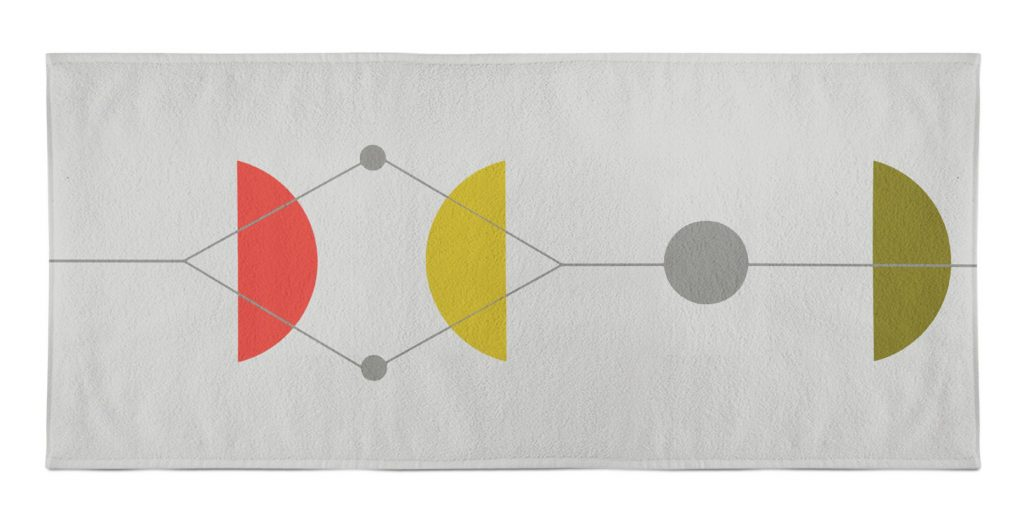 San Martin beach towel by allmodern