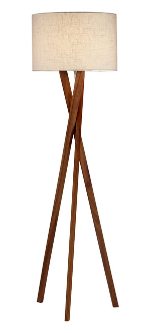 Brooklyn floor lamp by Adesso