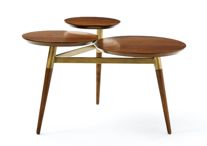 Clover coffee table from West Elm