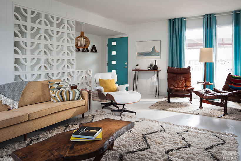 The Neutral Palette Is A Result Of Rachelu0027s Design Direction With White  Walls And Concrete Floor And Kimberleyu0027s Preference For Neutral Furniture.