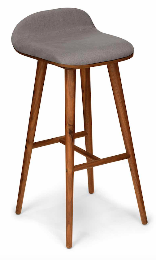 midcentury modern bar stool