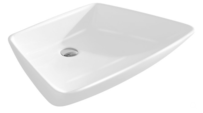 Vitreous china modern vessel sink