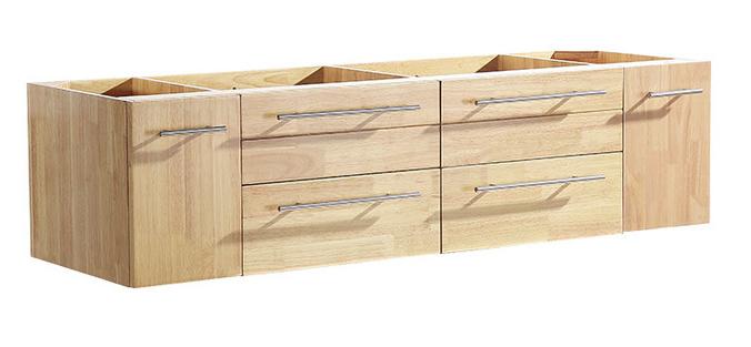 """Fresca Bellezza 59"""" modern double sink cabinet"""